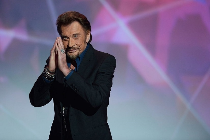 Johnny Hallyday. Image from Twitter/@business.