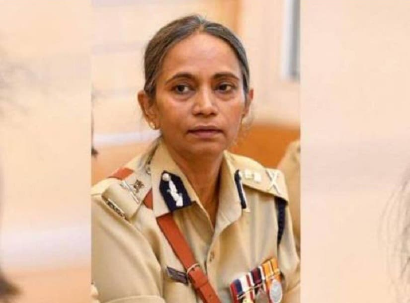 Neelmani Raju is Karnataka's first ever woman IGP. Image from Twitter/@IPSAssociation