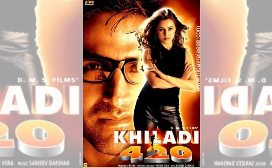 Vora made his directorial debut with Akshay Kumar's cult classic Khiladi 420