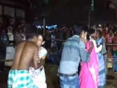 Jharkhand MLA organised a kissing competition to promote modernity. News18