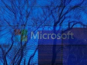 Microsoft. Image: Reuters.
