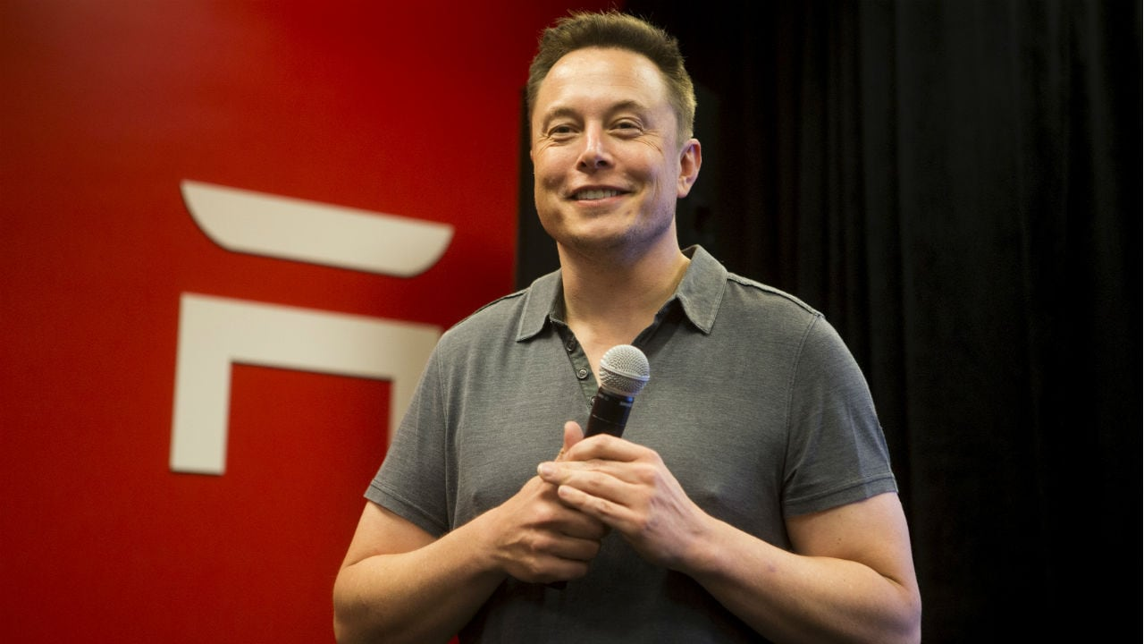 Elon Musk. Image: Reuters