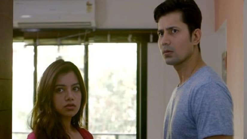 Nidhi Singh and Sumeet Vyas in a still from Permanent Roommates. YouTube