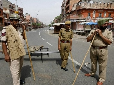 Rajasthan police. AFP