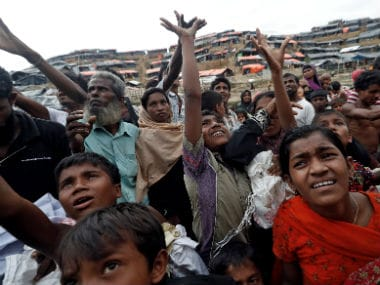 File image of Rohingya refugees in Bangladesh. Reuters