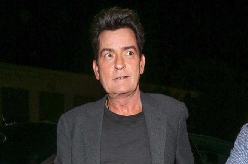 Charlie Sheen. Image from Twitter/@nypost.