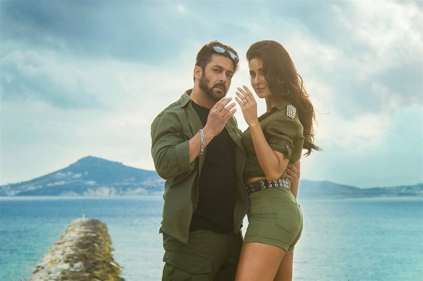 Salman Khan and Katrina Kaif in Tiger Zinda Hai.