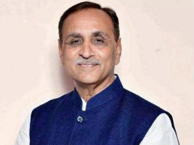 File image of Vijay Rupani. News18