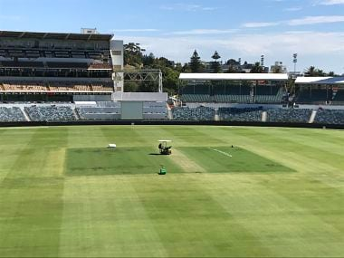 The iconic WACA ground will be hosting its 44th and final Test match. Image courtesy: Twitter @samuelfez