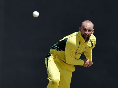 File image of Nathan Lyon. AFP