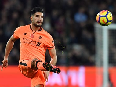 File image of Emre Can. AFP
