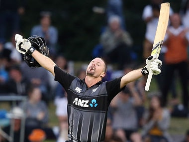 New Zealand's Colin Munro has established himself as top T20I batsman for New Zealand. AFP