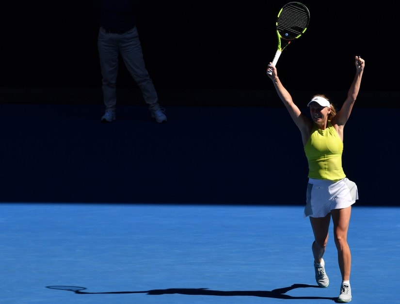 Australian Open 2018: Caroline Wozniacki fights back from the brink; Jo-Wilfried Tsonga wins five-set thriller