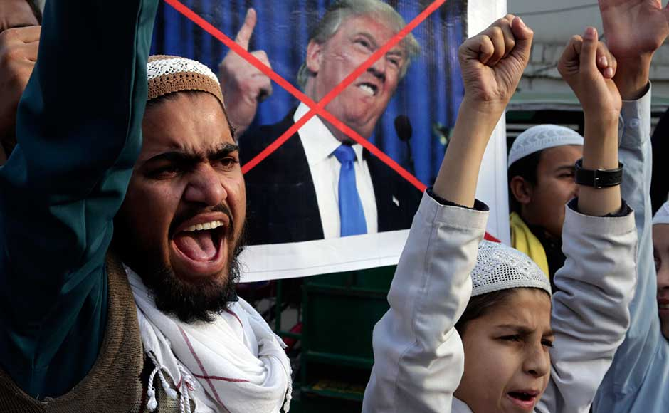 Pakistan on Friday reacted sharply to the US' decision to suspend over $1 billion security aid to it for failing to rein in terror groups, saying