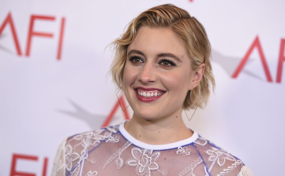 Writer-director-actor Greta Gerwig's film Lady Bird made it to AFI's top films of 2017. AP/Jordan Strauss