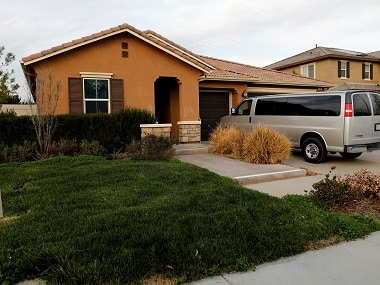 The home of David Allen and Louise Anna Turpin in Perris, California. Reuters