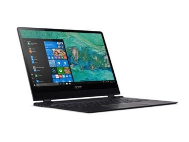 The new 2018 Acer Swift 7. Image: Acer
