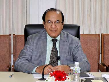 File image of former Chief Election Commissioner Achal Kumar Joti. PTI