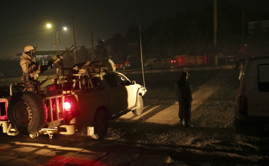 The Taliban claimed responsibility for the attack on the six-storey Intercontinental Hotel on a hilltop overlooking the Afghan capital. AP