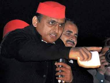 File image of Samajwadi Party chief Akhilesh Yadav. PTI