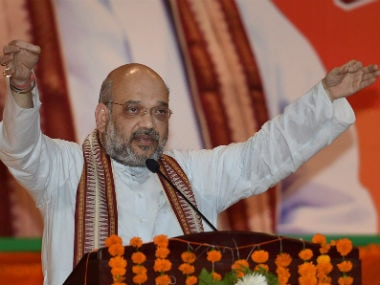 A file image of BJP chief Amit Shah. PTI