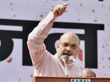 File image of BJP president Amit Shah. PTI