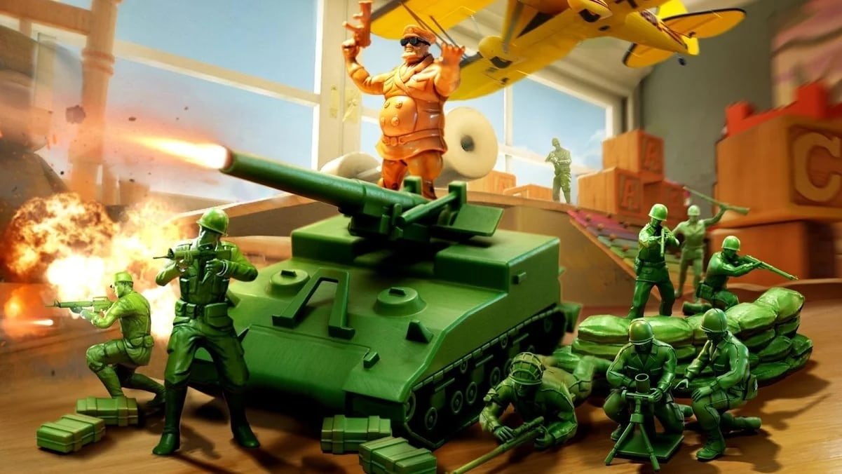 Army Men Strike 16x9