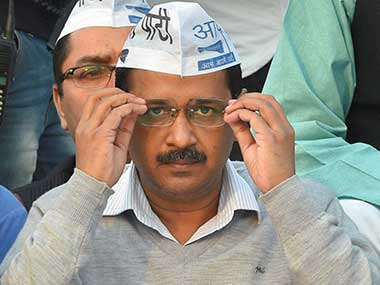 File image of AAP chief Arvind Kejriwal. PTI