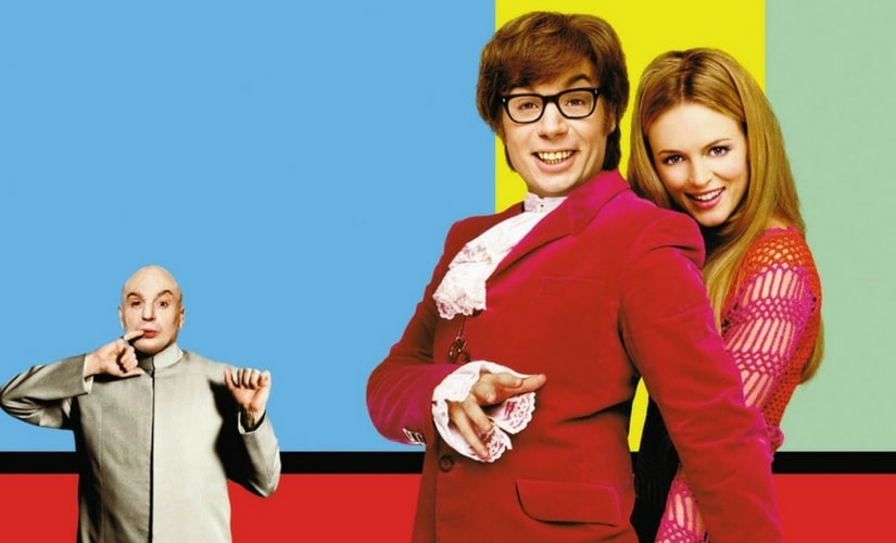 Poster for Austin Powers: The Spy Who Shagged Me.