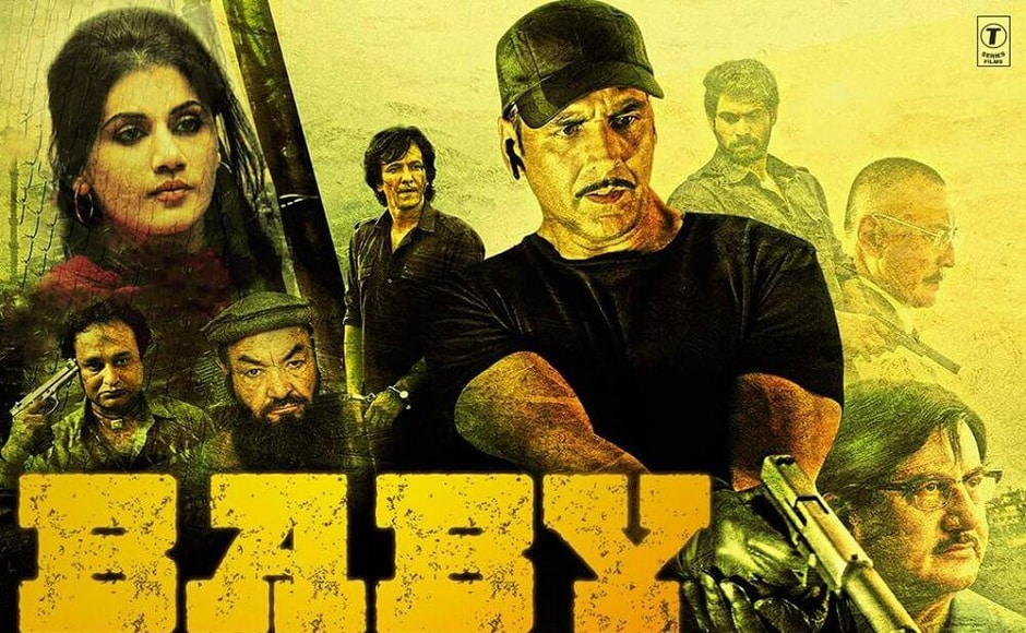Akshay Kumar starring Baby was a massive success at the box-office. It released on 23 January, 2015 and marked the beginning of Kumar's 'poster-boy of patriotism' image. Facebook