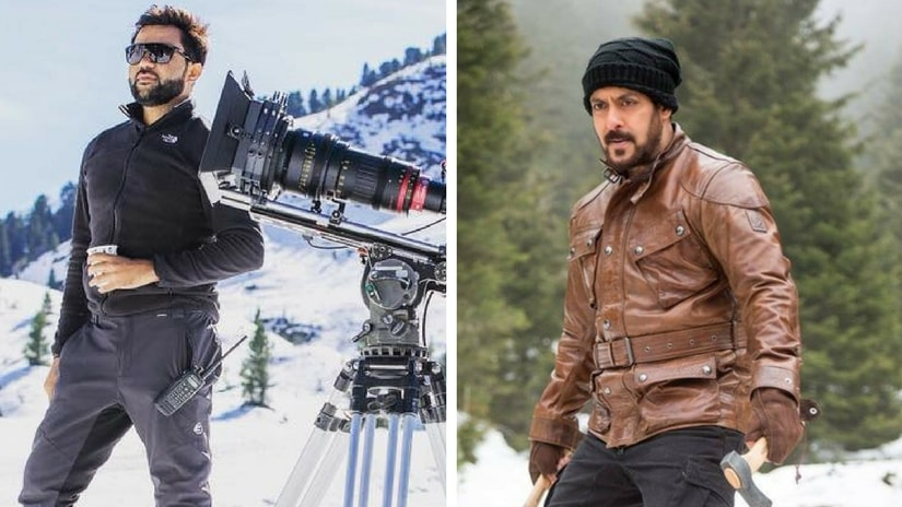 Director Ali Abbas Zafar (left) and Salman Khan (right). Facebook