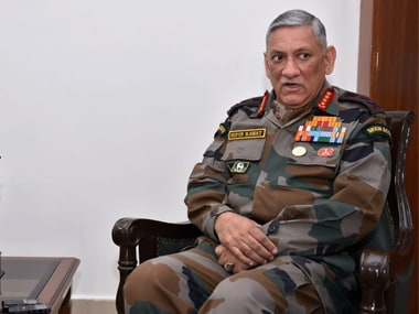 File image of army chief General Bipin Rawat. PTI