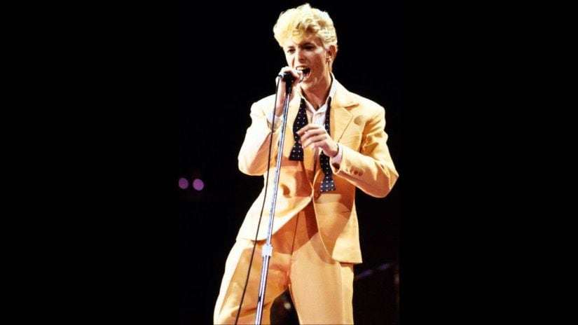David Bowies Lets Dance demo released after 35 years to commemorate singers 71st Birthday