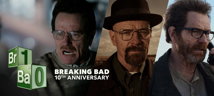 The evolution of Walter White. Breaking Bad