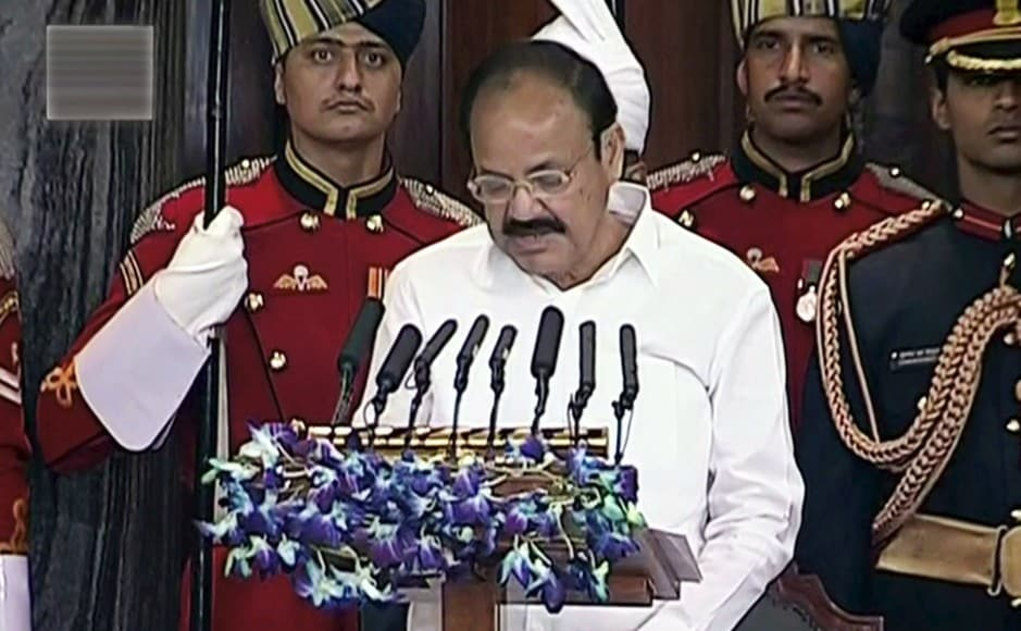 In his short address to the joint sitting of Lok Sabha and Rajya Sabha, Vice-President M Venkaiah Naidu said that the dream of India doesn't belong to one particular party or organisation, and that all parties must work together. PTI