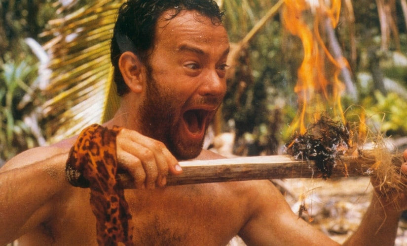 A still from Cast Away/Image from Twitter.