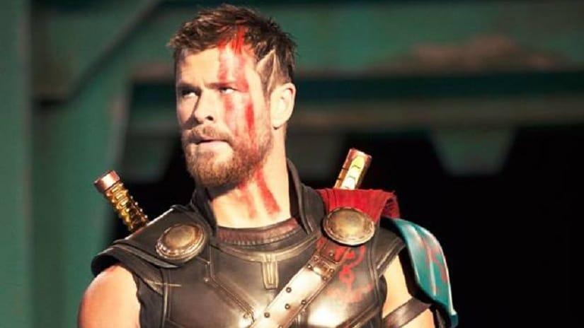 Chris Hemsworth in Thor: Ragnarok. Facebook