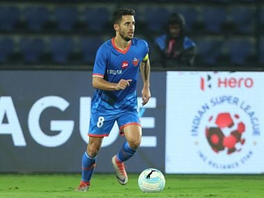 File image of Ferran Corominas Telechea of FC Goa. ISL