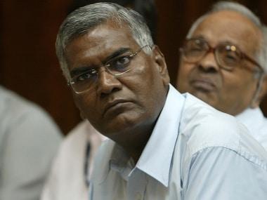 File image of CPI leader D Raja. AFP