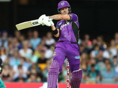 D'Arcy Short has been a revelation in BBL07. Image Courtesy: Twitter @HurricanesBBL