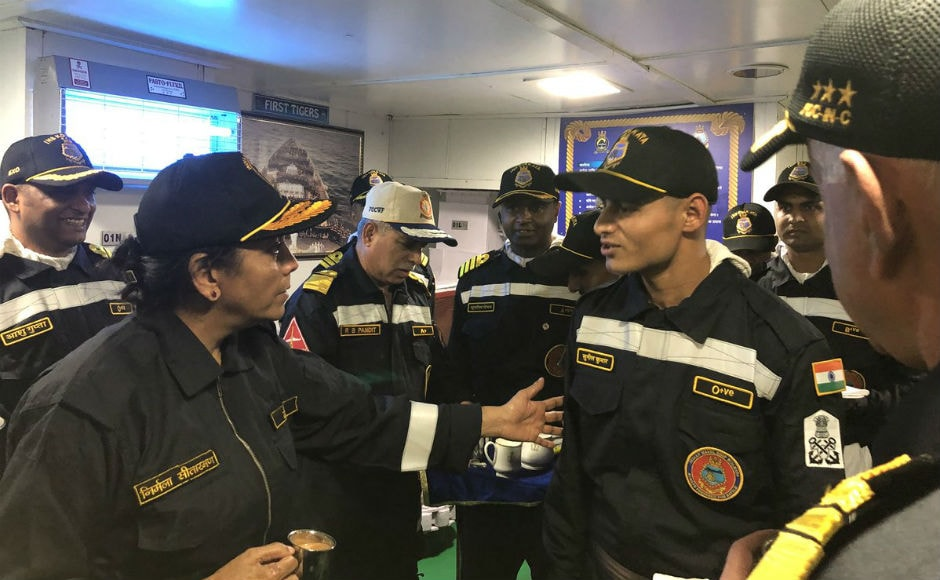 Sitharaman also interacted closely and had open discussions with the sailors on board the warships, also presiding over multiple complex naval operations including air interceptions, missile, gun and rocket firing, ship-to-ship replenishment, night flying and anti-submarine warfare. Twitter @nsitharaman