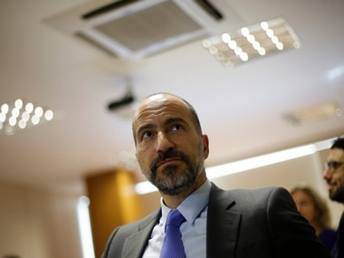The chief executive of Uber Technologies Inc, Dara Khosrowshahi. Reuters
