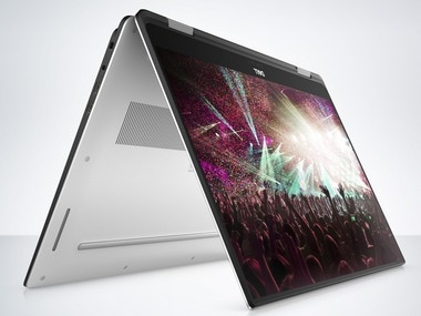 Dell launches XPS 15 2-in-1 laptop at CES 2018 featuring unique MagLev keyboard; prices start from <img class=