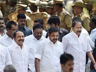 File image of Tamil Nadu chief minister E Palaniswamy. PTI