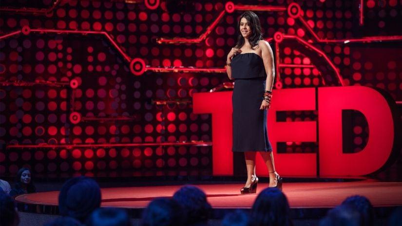 Ekta Kapoor speaks at TED Talks India: Nayi Soch (New Thinking), video recorded August 18-28, 2017, Mumbai, India. Photo: Amit Madheshiya / TED