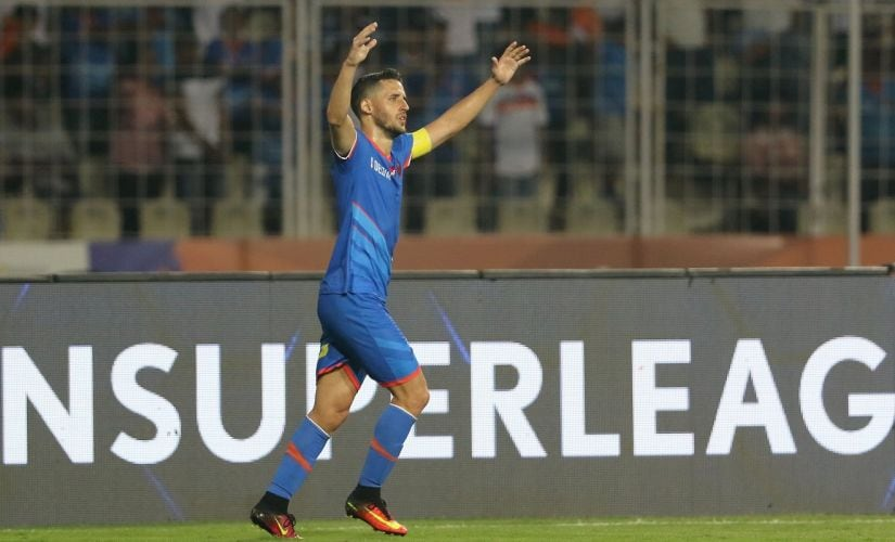 FC Goa's defensive vulnerabilities have undone their attacking qualities at times in the ISL this season. Image Courtesy: ISL