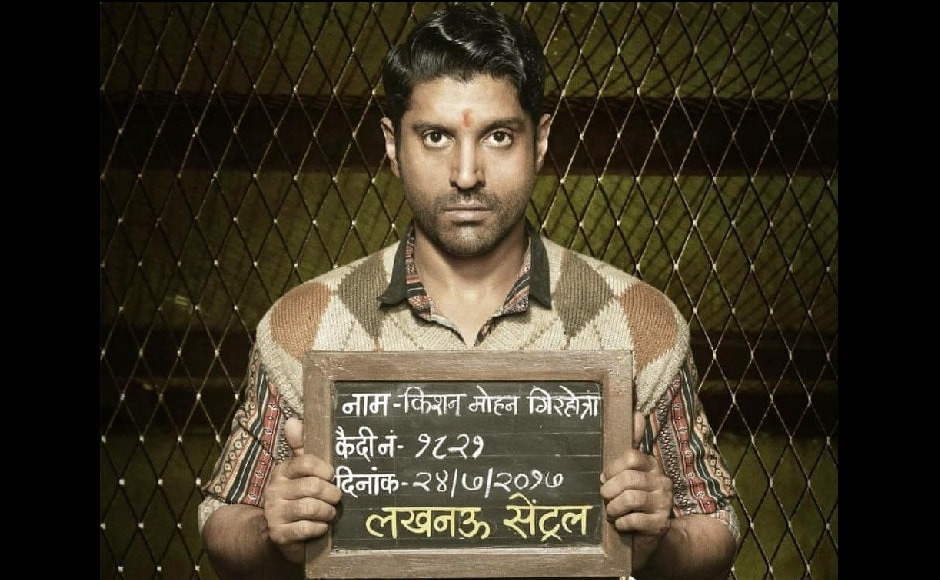 Farhan Akhtar in Lucknow Central. Facebook
