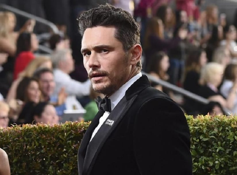 James Franco. Image from Twitter/@NYDailyNews
