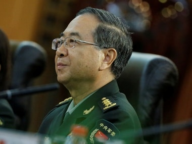 File image of former Chief of the general staff of the Chinese People's Liberation Army Gen. Fang Fenghui. Reuters