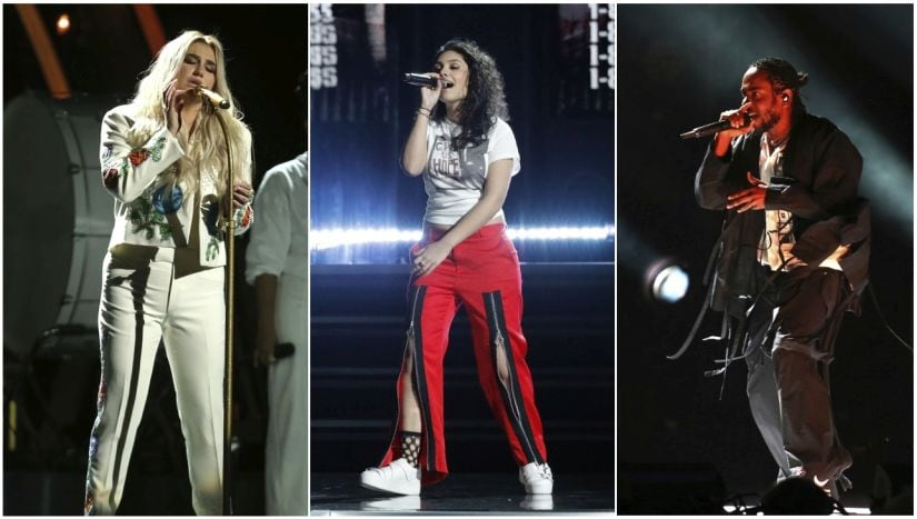 Best moments from Grammy Awards 2018: From Kendrick Lamars fiery opening act to Keshas emotional performance